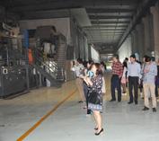 2014年5月公司组织业务骨干参观工厂及旅游